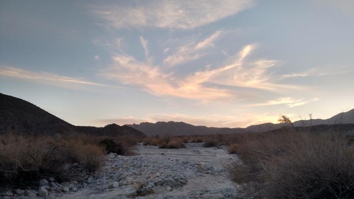 Valecito Mountains, Anza-Borrego Desert State Park