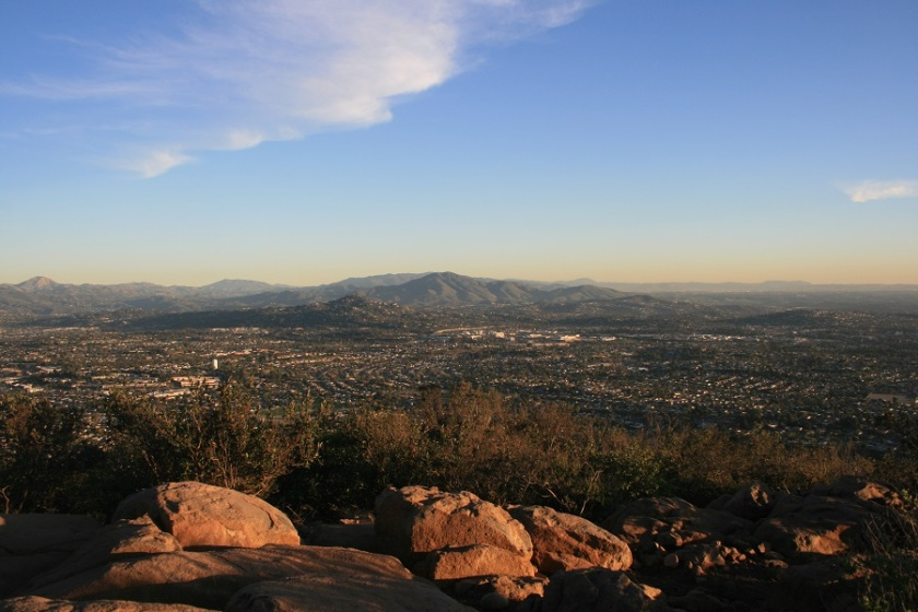 Cowles Mountain, Mission Trails Regional Park, San Diego, CA