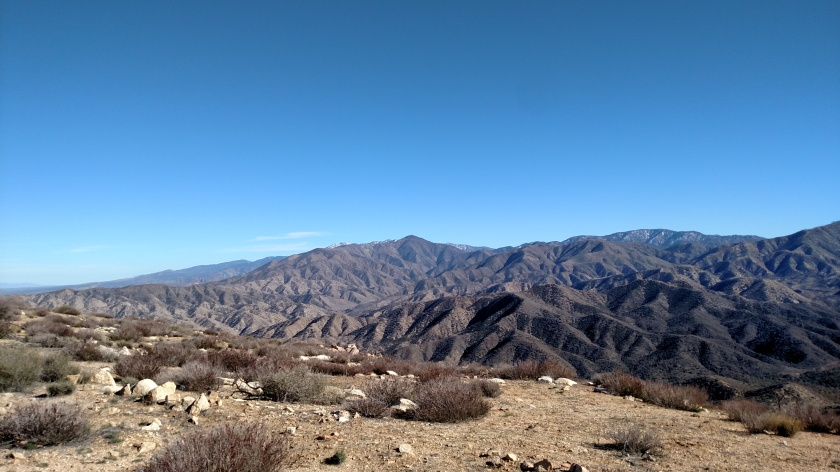 View from Mt. Emma, Angeles National Forest