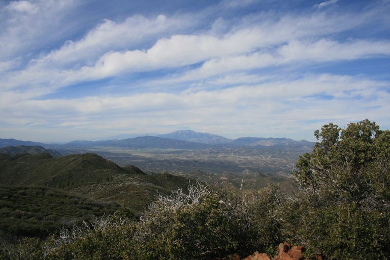 Combs Peak, San Diego County, CA