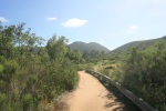 Kwaay Paay Peak trail head, Mission Trails Regional Park, San Diego, CA