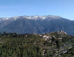 San Gorgoino Mountain seen from the Skyline Trail