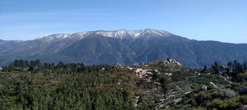 San Gorgoino Mountain seen from the Skyline Trail