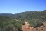 Barker Spur Trail, San Diego County, CA