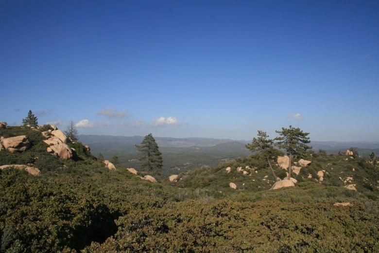 Corte Madera Mountain, San Diego County, CA