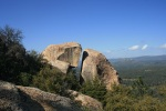 Geology on Corte Madera Mountain, San Diego County, CA