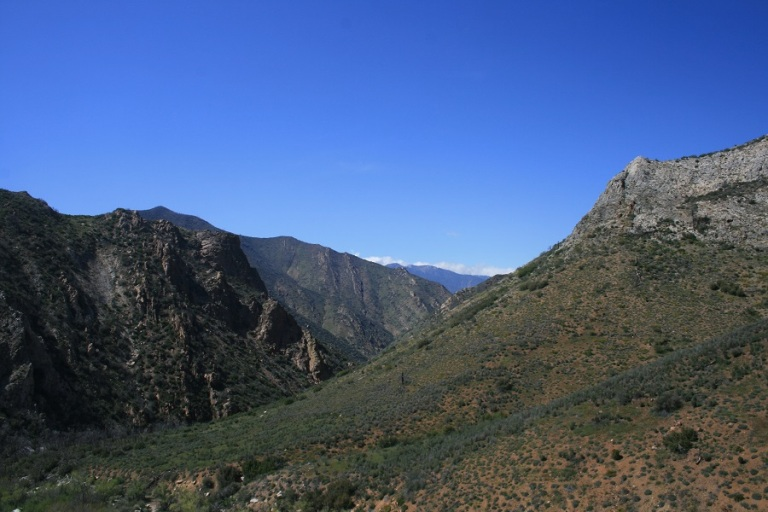 Packsaddle Cave Trail, Sequoia National Forest, CA