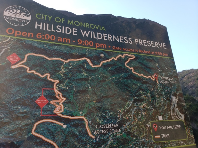Hillside Wilderness Preserve, Monrovia