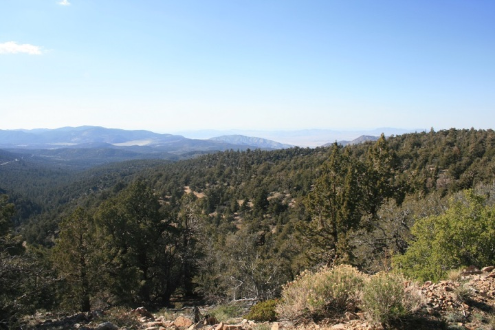 View from Onyx Peak, San Bernardino National Forest, CA