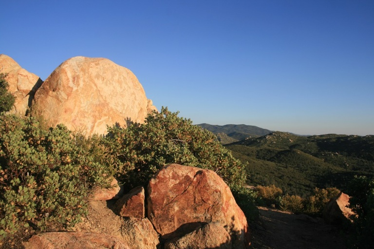 Pine Ridge Trail, Cuyamaca Rancho State Park, San Diego County, CA