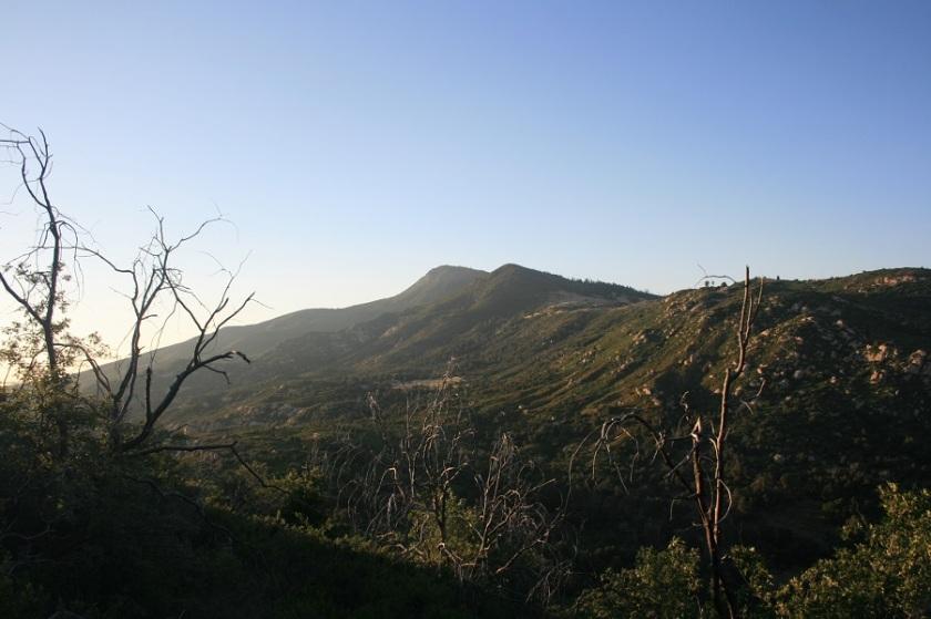 Cuyamaca Peak, Cuyamaca Rancho State Park, Pine Ridge Trail