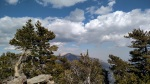 San Gorgoino as seen from San Bernardino Peak, CA