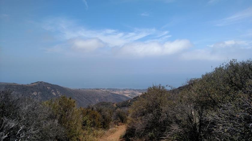 Ocean view from Zuma Canyon, Malibu, CA