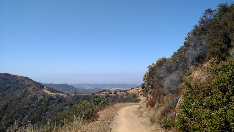 Etz Meloy Motorway, Backbone Trail, Santa Monica Mountains, CA