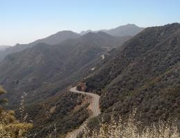 Backbone Trail, Etz Meloy Motorway, Malibu, CA