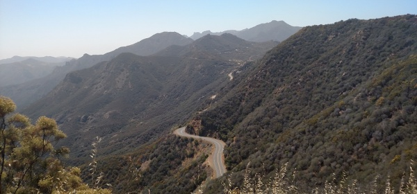 Backbone Trail, Etz Meloy Motorway, Malibu, CA