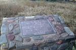 Canada de los Bueyes monument, Weir Canyon, Orange County, CA