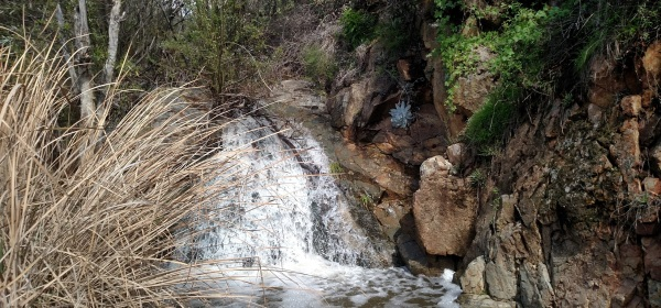 Copper Creek Falls, Rancho la Costa Preserve