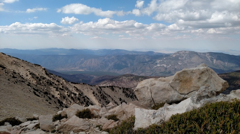 San Gorgonio Mountain summit, CA