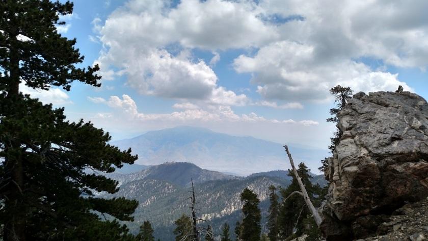 View of San Jacinto Peak from the Vivian Creek Trail