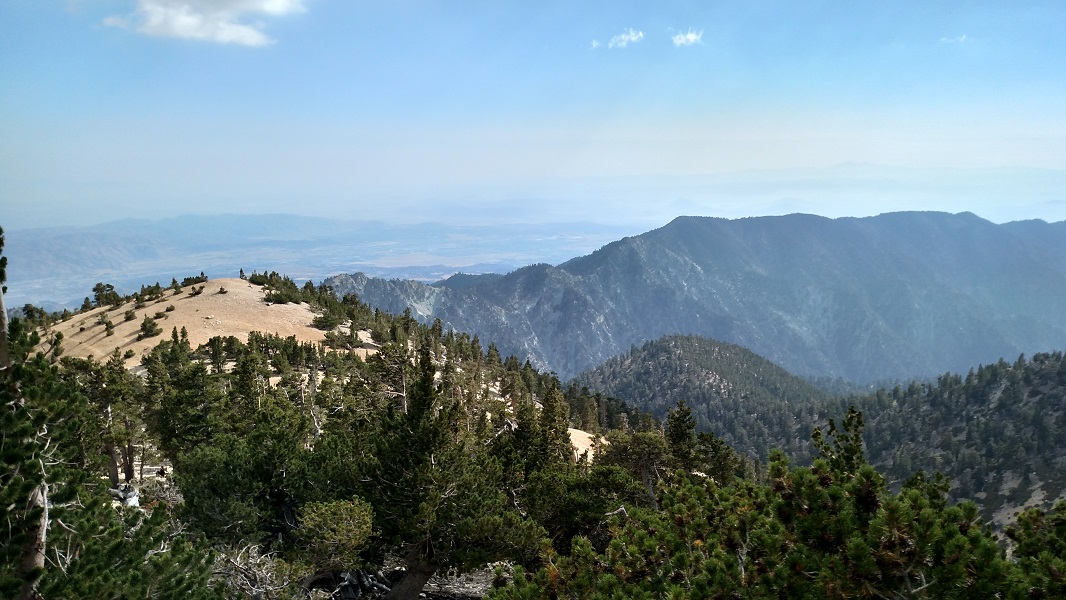 Yucaipa Ridge as seen from San Gorgonio Mountain