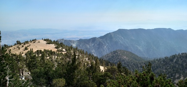 Yucaipa Ridge as seen from San Gorgonio Mountain
