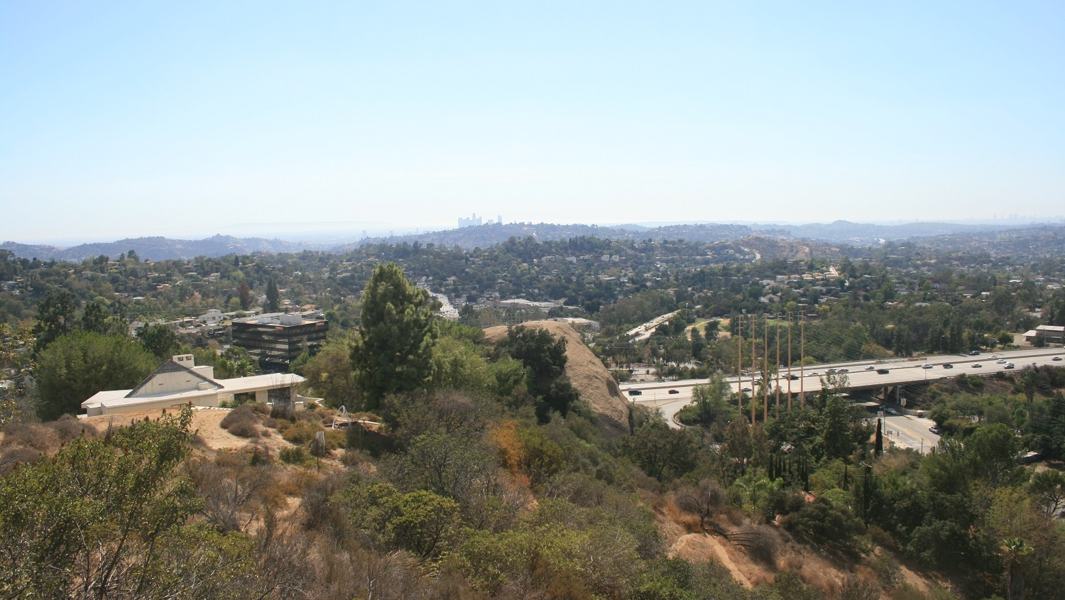 View from Eagle Rock Canyon Trail, Los Angeles