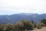 View of San Gorgonio from Sugarloaf Mountain, San Bernardino Natinonal Forest, CA