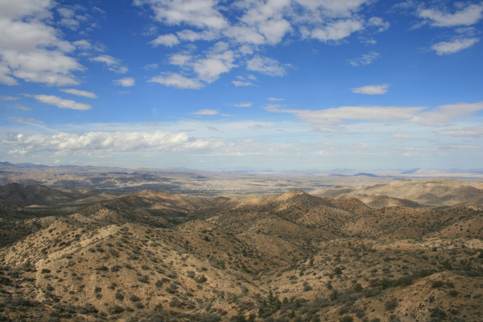 View from Eureka Peak, Joshua Tree National Park