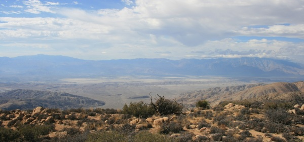 View of the Santa Rosa Mountains from Mt. Inspiration, Joshua Tree National Park
