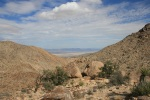 View from the end of the Pine City Trail, Joshua Tree National Park