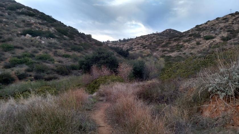 Tooth Rock hike, Poway, CA
