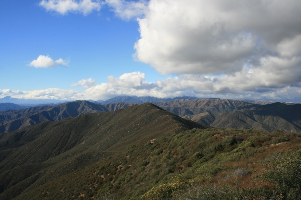 View from Jupiter Peak, Angeles National Forest