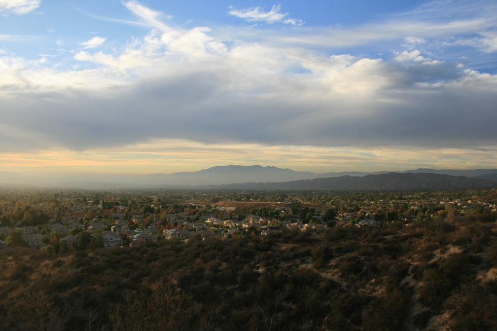View from Whisper Ranch Trail, Yucaipa, CA