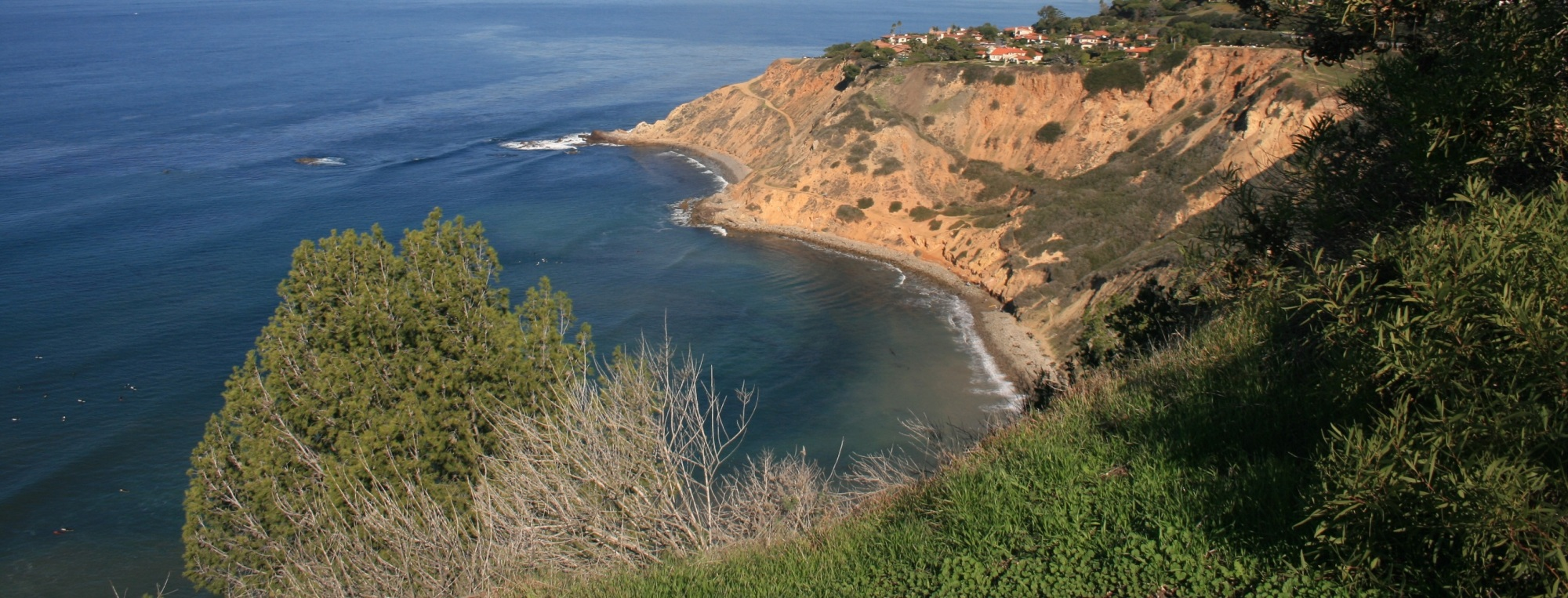 Bluff Cove as seen from the Apsley Trail, Palos Verdes Peninsula, CA