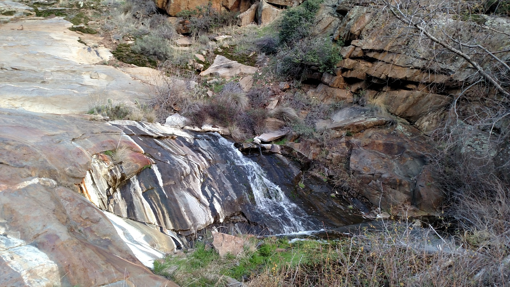 Cottonwood Creek Falls, San Diego County, CA