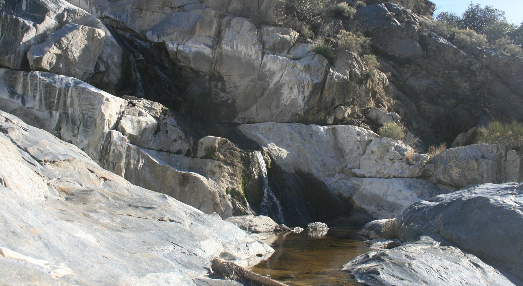 Kitchen Creek Falls, San Diego County, CA