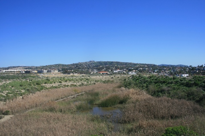 Hills above San Clemente, CA as seen from the Sea Summit Trail