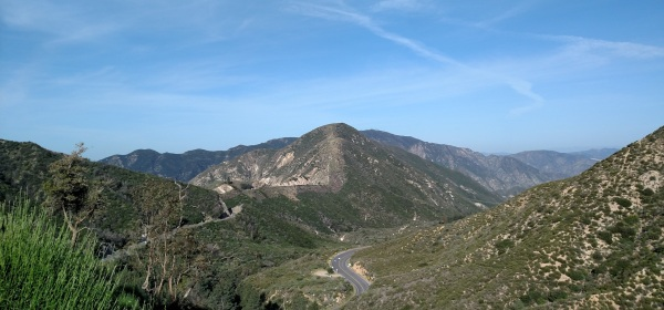 Josephine Peak Fire Road, Angeles National Forest