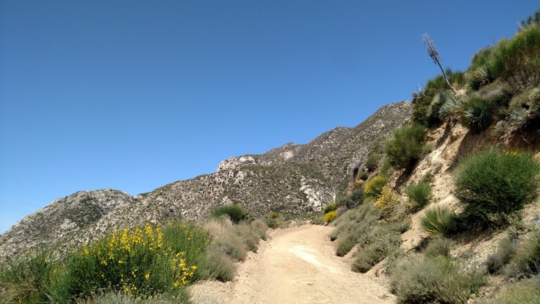 Josephine Peak Fire Road, Angeles National Forest, CA