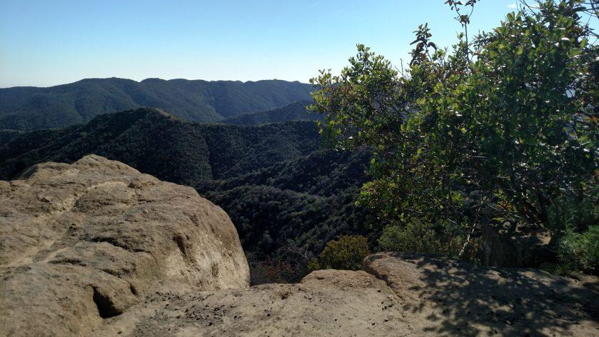 Farmer Ridge Fire Road, Santa Monica Mountains, CA