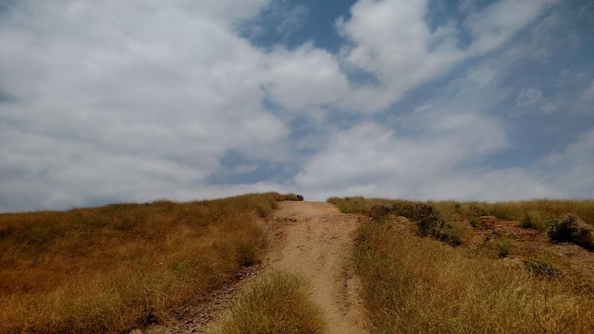 Shandin Hills above Blair Park, San Bernardino, CA