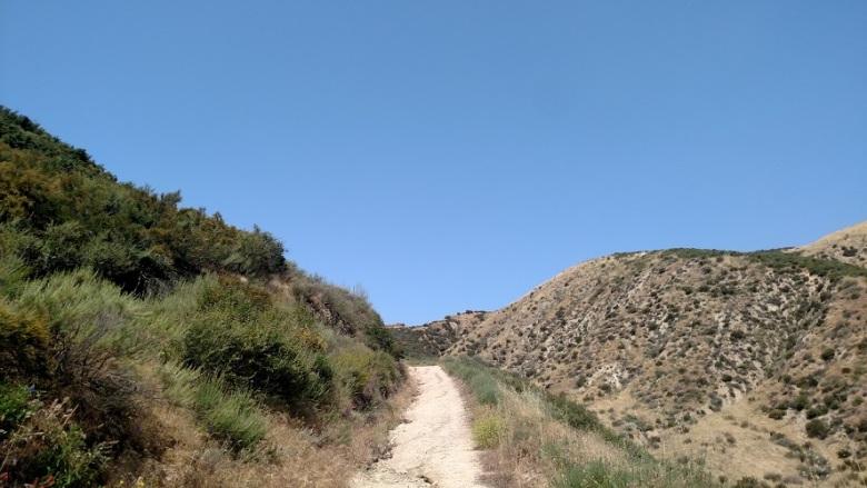 Borea Canyon, San Bernardino, CA
