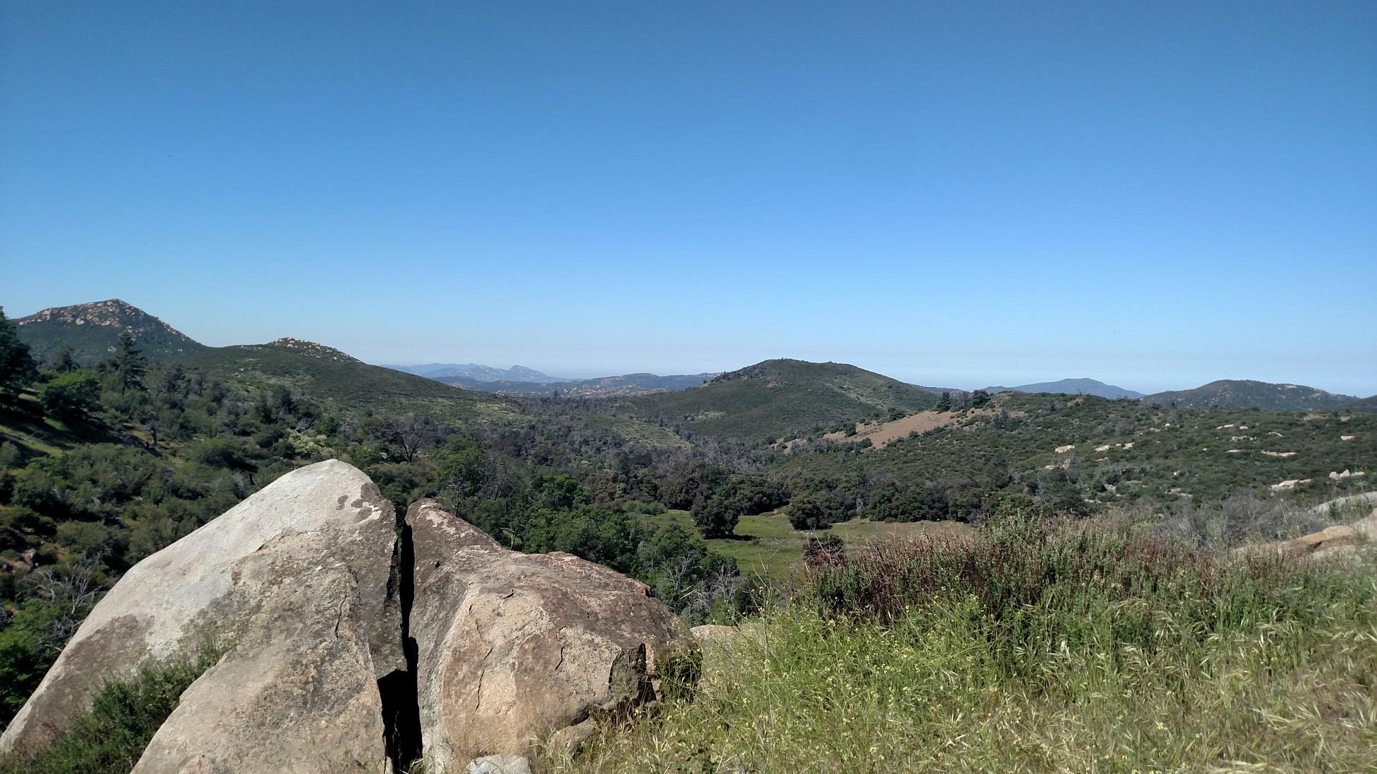Dyar Spring Trail, Cuyamaca Rancho State Park
