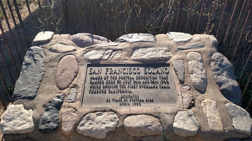 Portola Expedition Monument, Arroyo Trabuco Trail, Orange County, CA