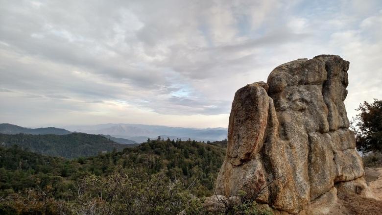 Hot Springs Mountain, San Diego County, CA