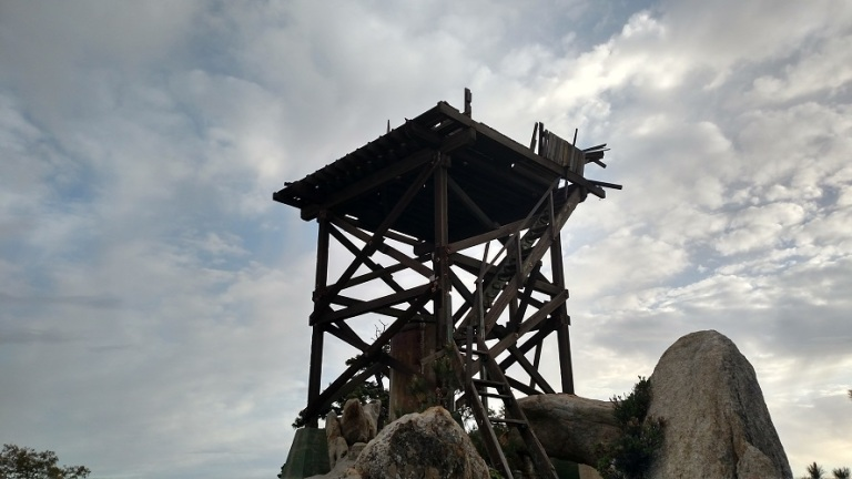 Lookout tower, Hot Springs Mountain, San Diego County, CA