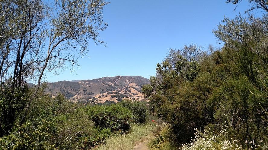 Tapia Spur Trail, Malibu Creek State Park, CA