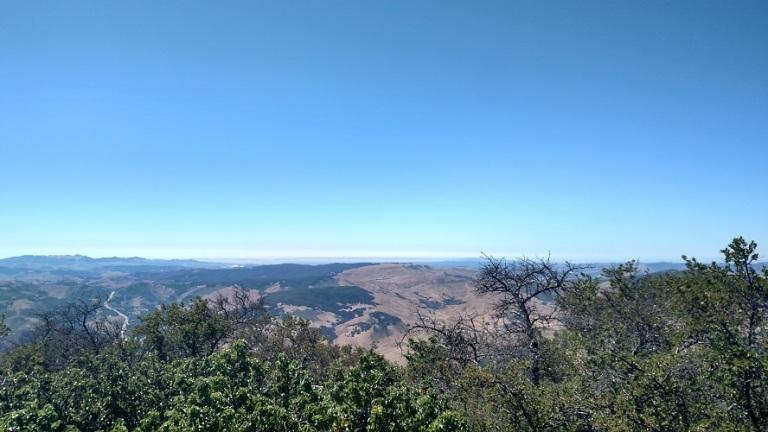 Gaviota Peak, Santa Barbara County, CA