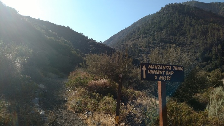 Manzanita Trail, Angeles National Forest